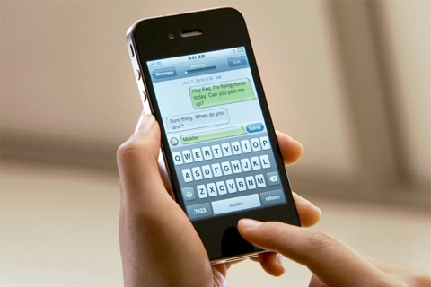 Iphone  Texting Features