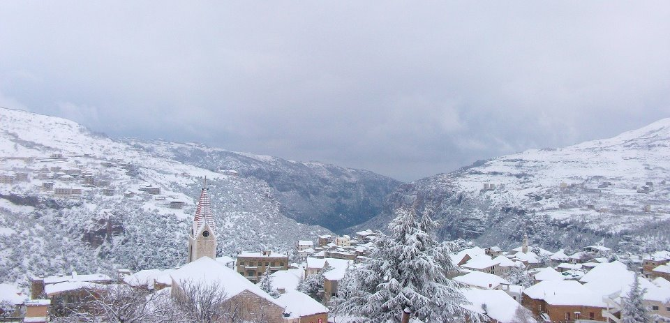 Winter In Lebanon Snowy Landscapes From The Recent