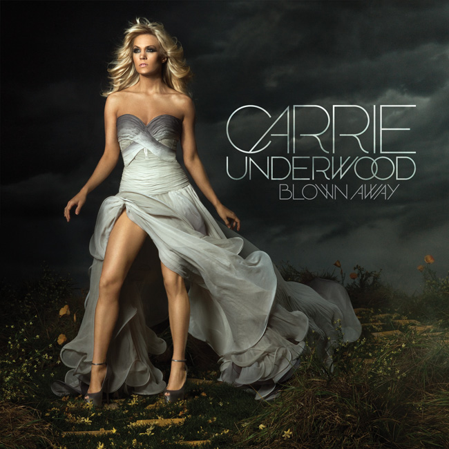 Carrie Underwood Blown Away Album Cover