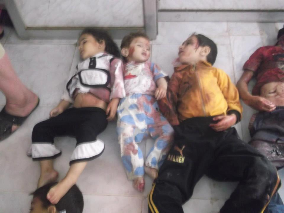 Houla massacre Syria – 1 | A Separate State of Mind | A ...