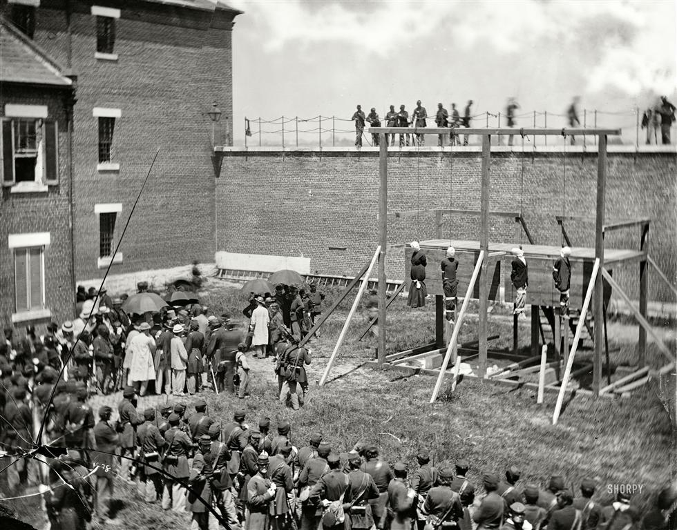 July 7 1865 Washington Lincoln Assassination
