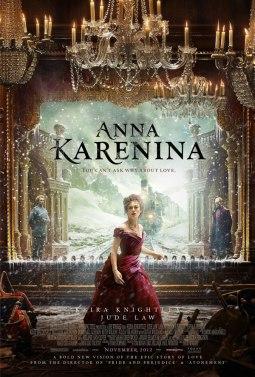Anna Karenina Joe Wright 2012 movie poster
