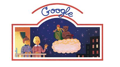 Bonne nuit les petits Marchand de Sable Google Doodle