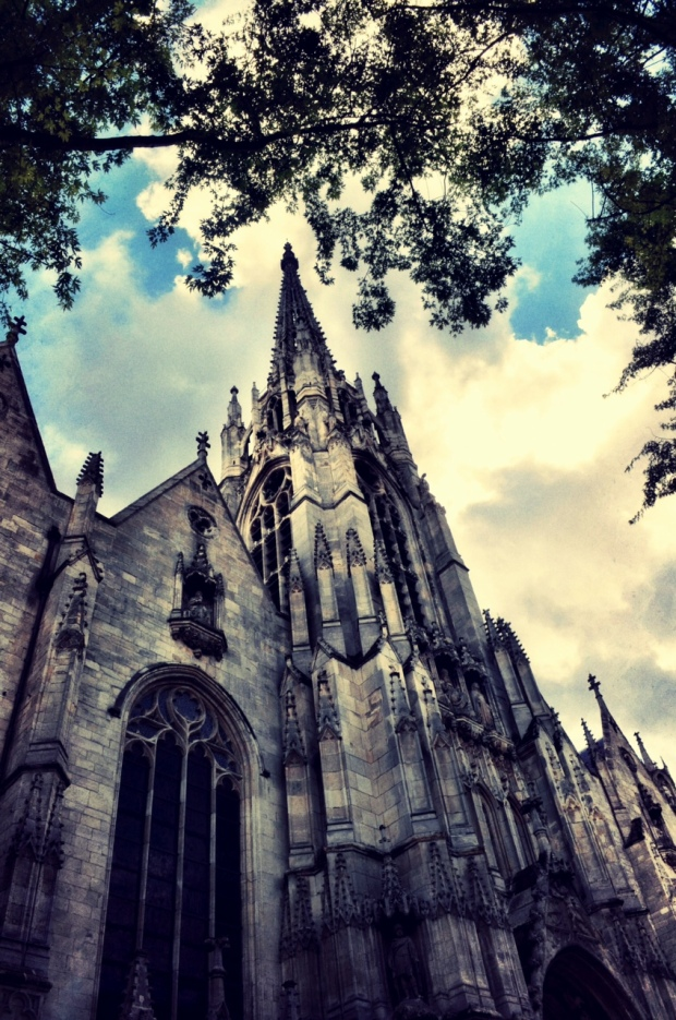 One of the city's cathedrals