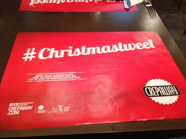 #ChristmasTweet - Crepaway 1