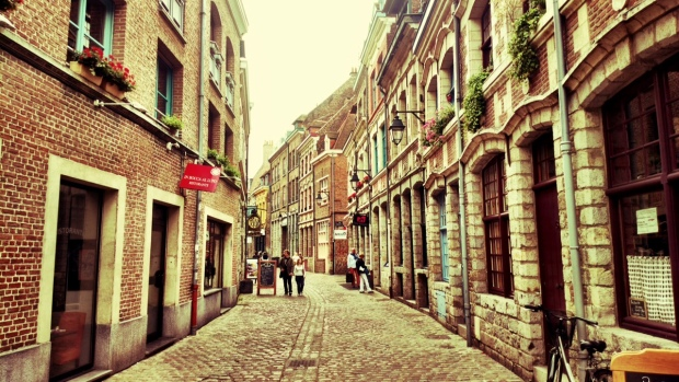 Another old street in the city