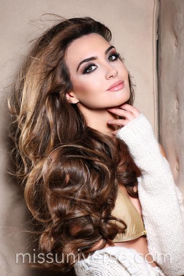 Miss Lebanon Rina Chibani Miss Universe 2012
