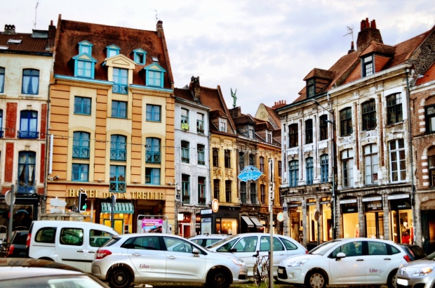 Old Street Lille vieux Lille France