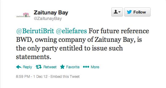 Zaitunay Bay Closing - 2