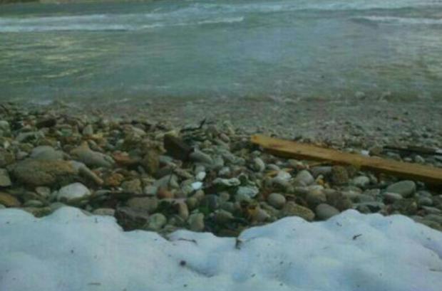 This is Batroun's beach