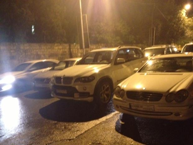 Bliss Street triple parking Beirut