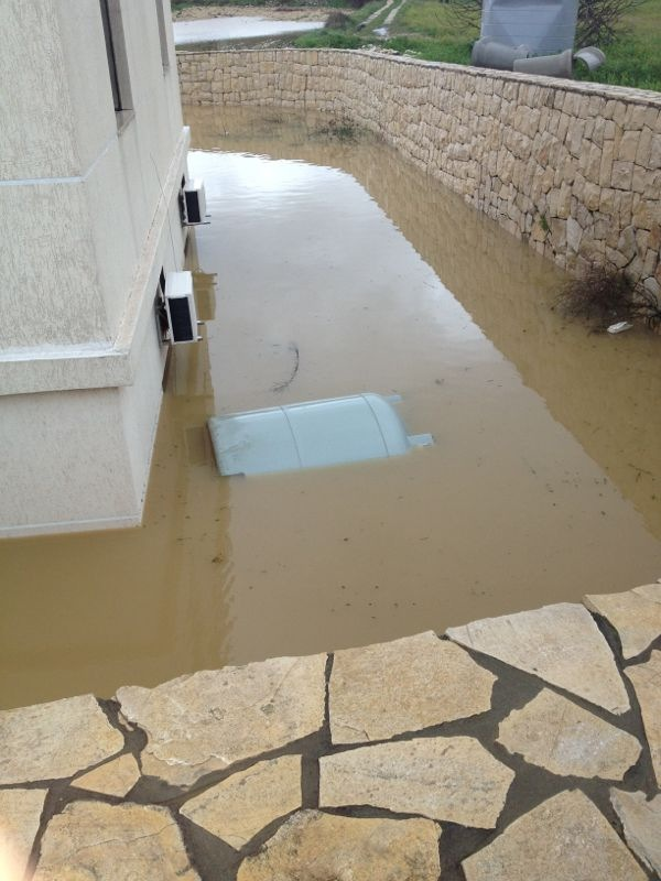 Ebrine Municipality Lebanon storm rain - 1