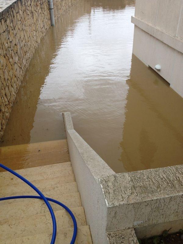 Ebrine Municipality Lebanon storm rain - 2