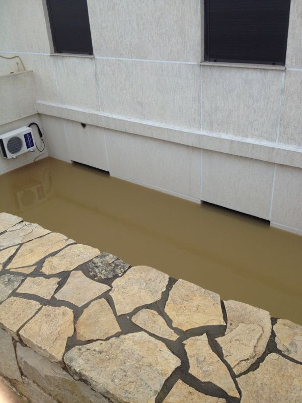 Ebrine Municipality Lebanon storm rain -  3