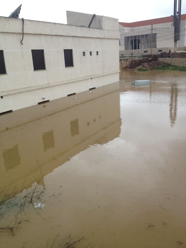 Ebrine Municipality Lebanon storm rain -  5