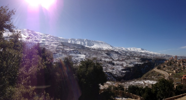 North Lebanon Mountains Becharre Cedars