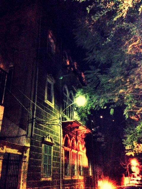 Beirut Aabrine Street Old Bldg
