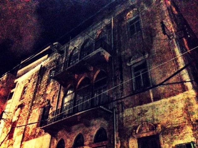 Beirut Rue Aabrine old bldg