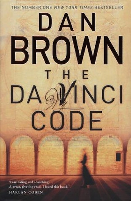 Dan Brown DaVinci Code Book Cover