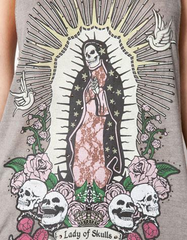 Bershka Shirt Lebanon Christianity - 2