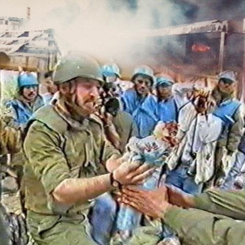 Qana Lebanon Massacre 1996