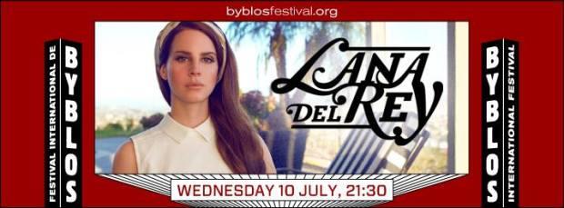 Lana Del Rey Byblos Festival Lebanon
