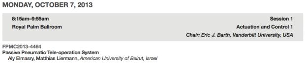 AUB, Israel.