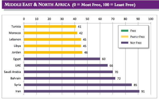 Internet Freedom Middle East, North Africa