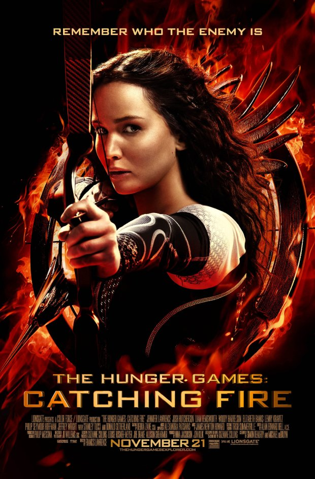 Hunger Games Catching Fire movie poster