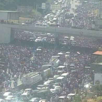 Syrians vote in Lebanon