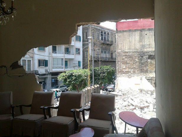 Mar Mkhayel House destroyed - 2