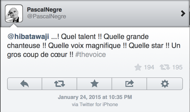 Hiba Tawaji The Voice France