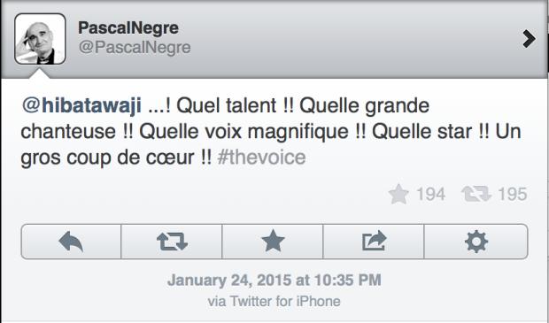 Hiba Tawaji The Voice France