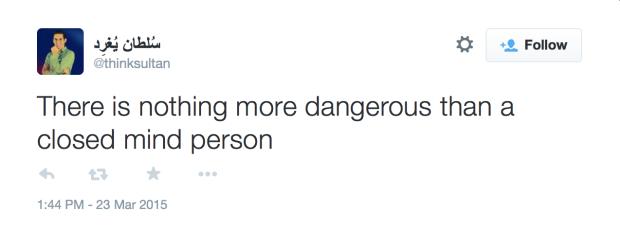 ThinkSultan Racist tweet - 11