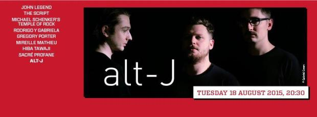 Alt-J Lebanon August 18
