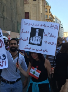 Protest YouStink Beirut August 29 2015 - 18