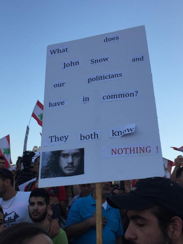 Protest YouStink Beirut August 29 2015 - 7