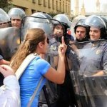 Lebanese Police Attack #YouStink Protesters - 2