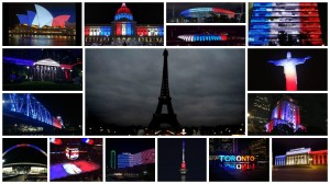 Paris Attacks France Flag Colors