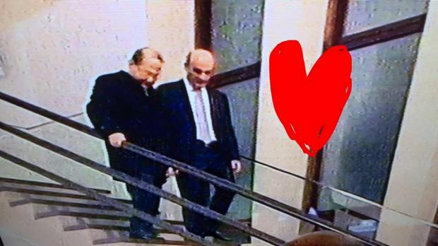 Samir Geagea and Michel Aoun