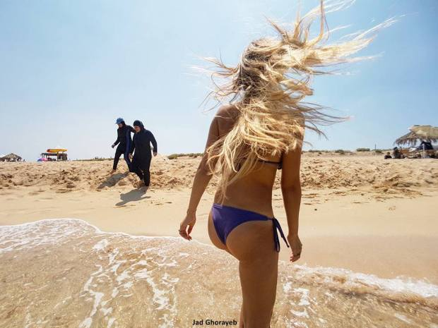 Bikini:Burkini Tripoli