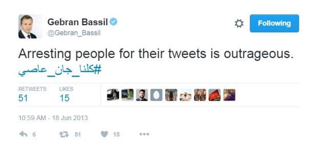 gerban-bassil-tweet